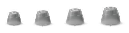 Signia Click-Sleeves 2.0 für Silk X Hörgerät