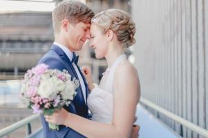 Vergnuegte Hochzeit in Duisburg_IN LOVE Fotografie_ - 16