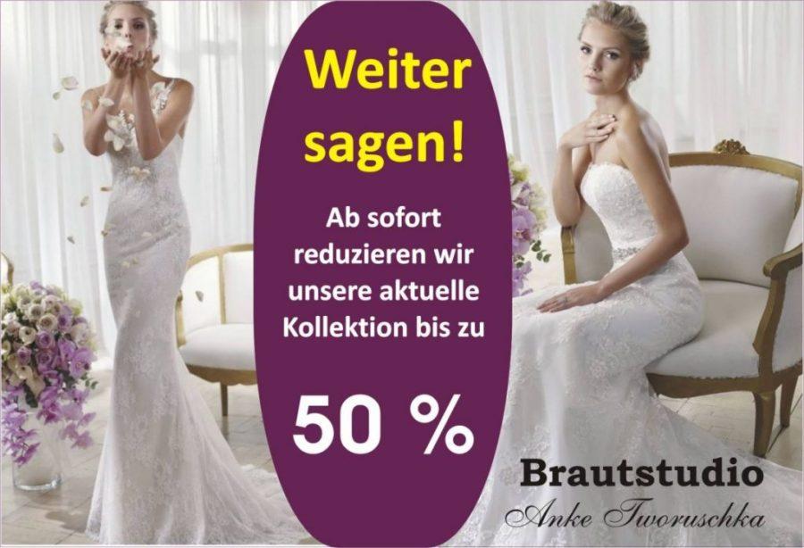 Brautkleider bis 50% Reduziert