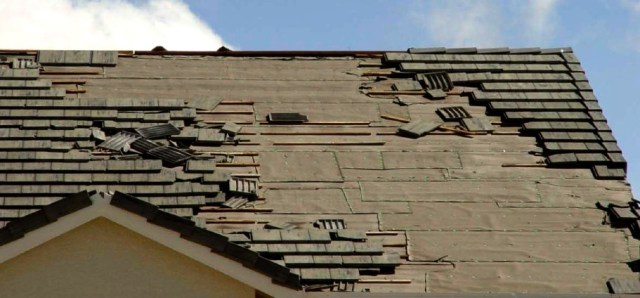 new homeowners roof damage
