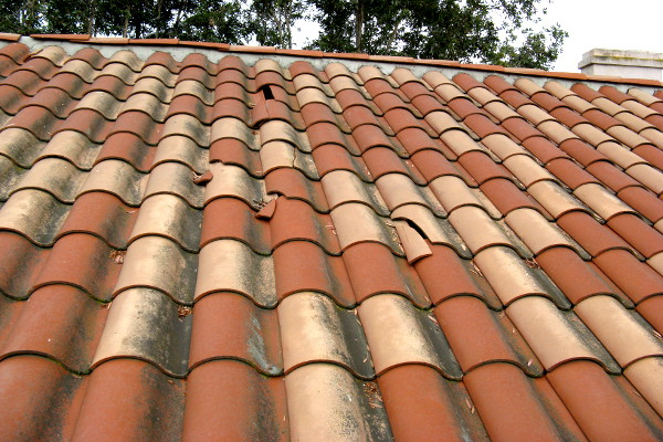 clay roof tile vs composite spanish