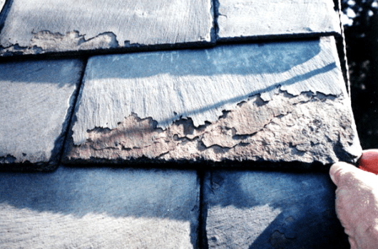 Natural Slate Roof Problems