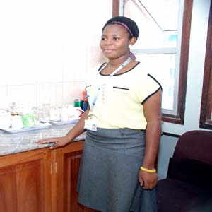 Ms. Naomi A. Rashid (Office Attendant)