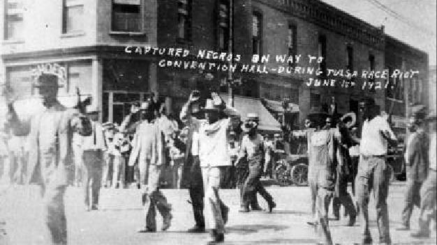 Greenwood men arrested during Tulsa Race Riots of 1921