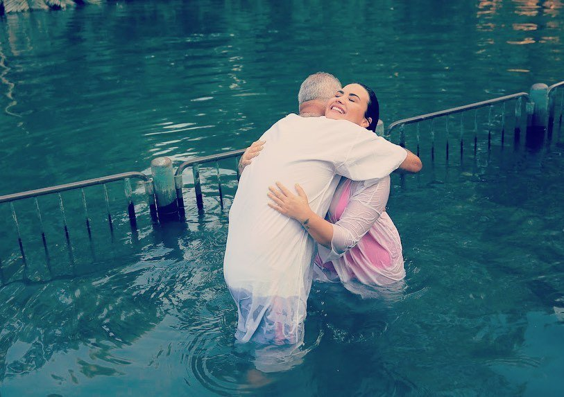 "Demi Lovato Filled a ""God-Sized Hole"" as She Gets Baptized in the Jordan River"