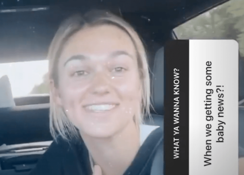 Sadie Robertson & Christian Huff Let Us Know If She's Pregnant (VIDEO)