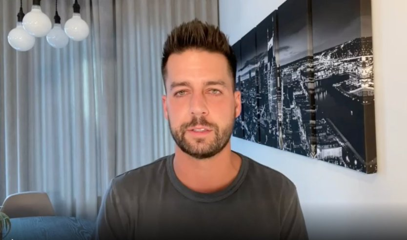 "John Crist says he's the ""biggest hypocrite"" as he thanks fans for their support following alleged sex scandal"