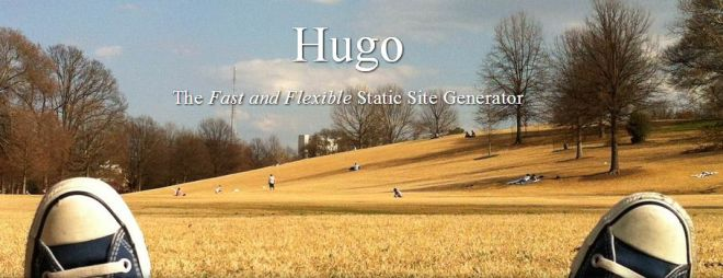 Hugo masthead from website
