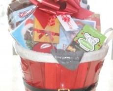 custom christmas gift basket