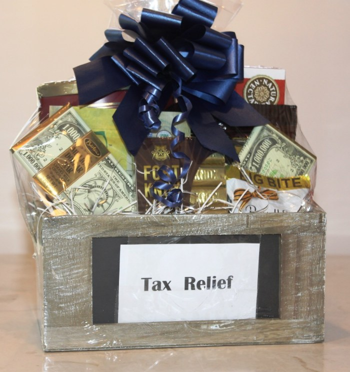 gift basket for accountant