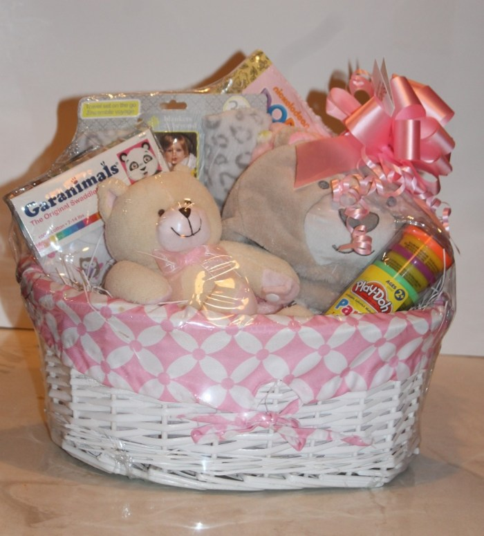 new baby gift basket
