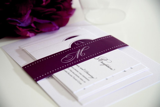 Purple Fall Wedding Invitations – Purple Fall Wedding Invitations