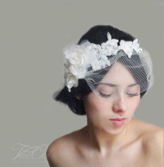 9 Unique Wedding Veils BravoBride