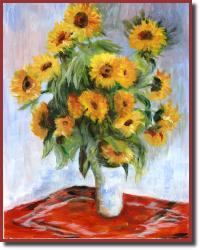 NancysMonetsSunflowers