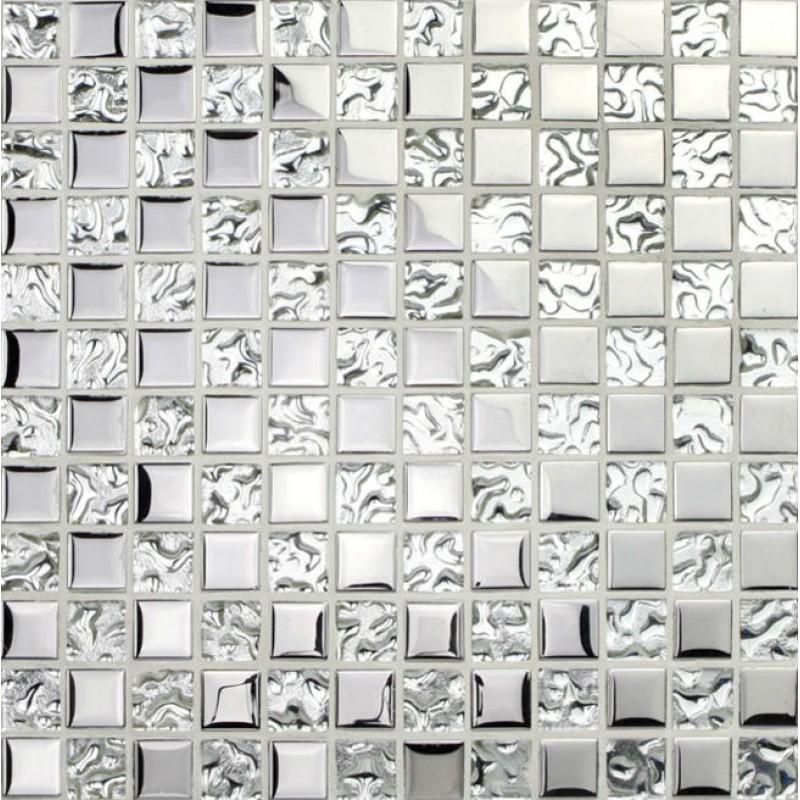 silver glass tile backsplash ideas bathroom mosaic tiles cheap plating craftsman square tile wall stickers shower floor pgt8123