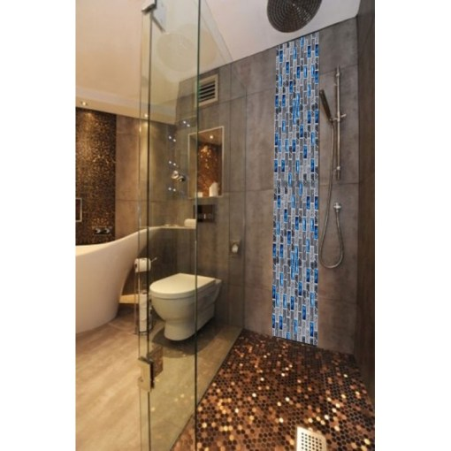 bathroom with glass tiles » Full HD MAPS Locations - Another World ...