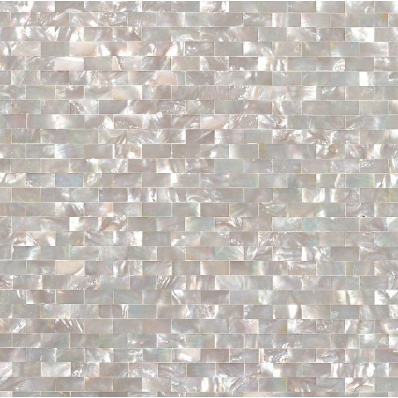 seashell tile subway cheap backsplash tiles for kitchen and bathroom iridescent wall shell mosaic natural mother of pearl sheet dws005