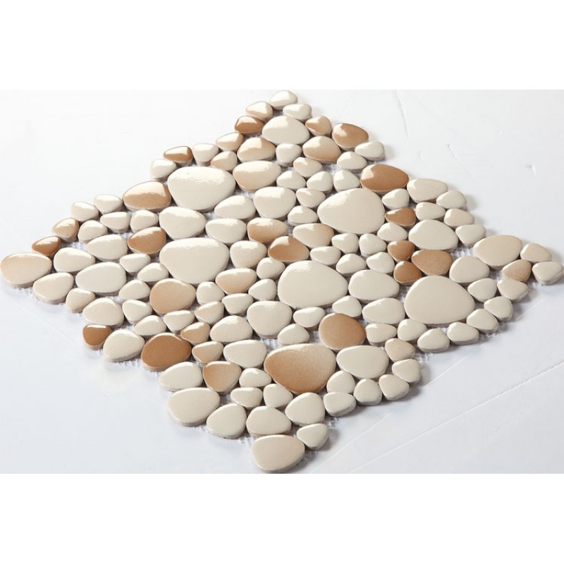 glazed porcelain pebble tile kitchen backsplash tiles fs1712 ceramic floor mosaic tile porcelain tiles bathroom wall designs