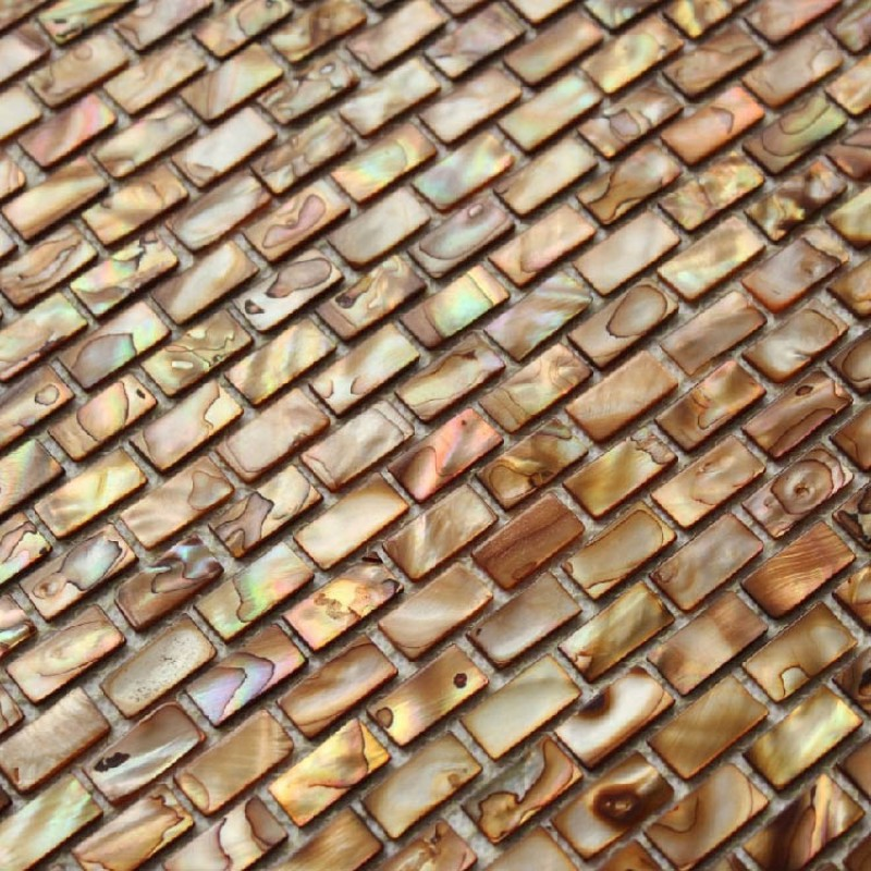 freshwater shell subway tile mosaic shower bathroom stained bronze designs mother of pearl tiles mb02 seashell deco mesh kitchen backsplash tiles