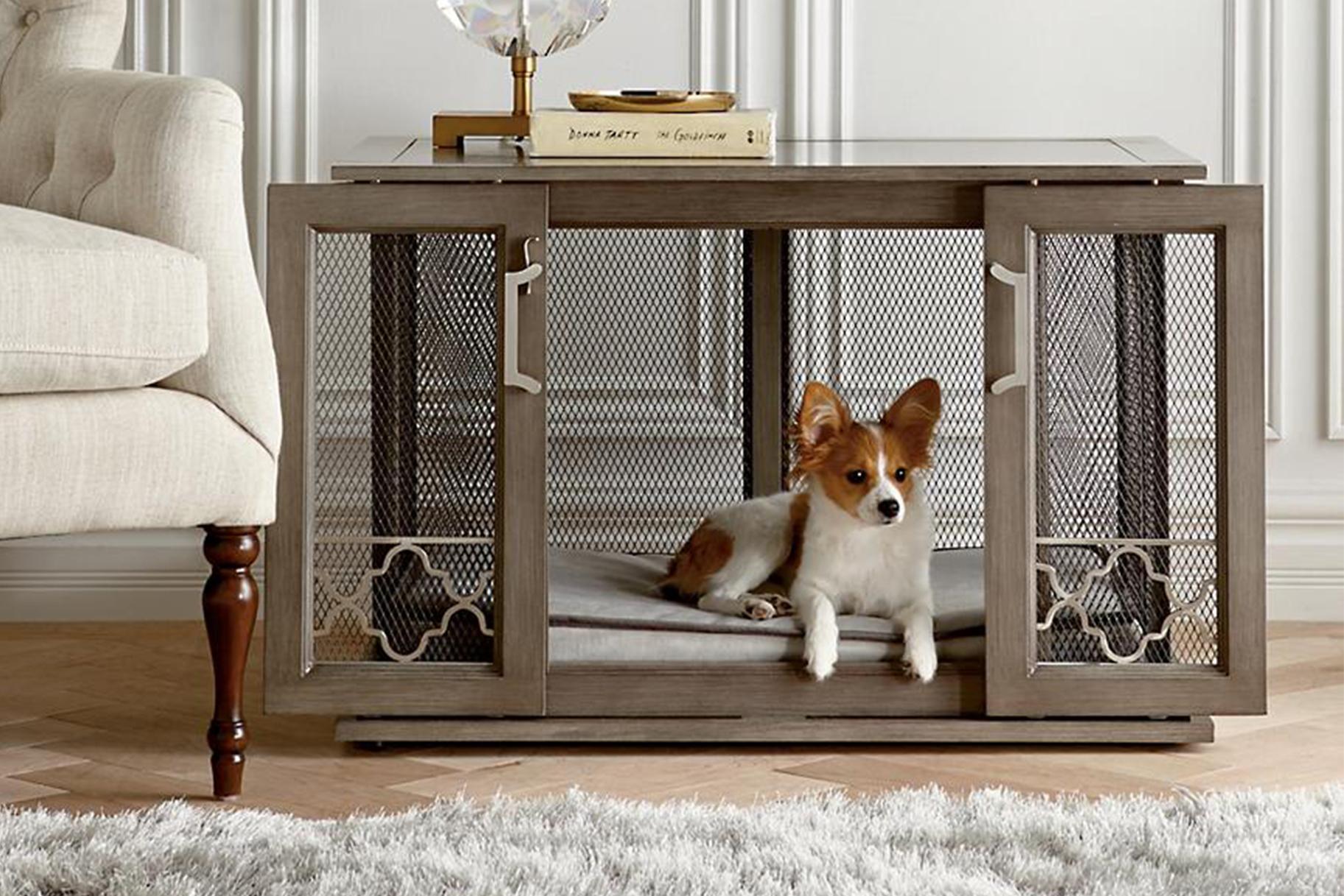 Best Designer Dog Crates That Look Like Furniture Home