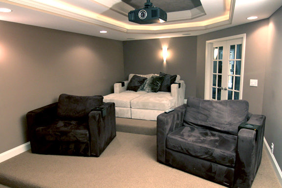 Family Room And Living Room