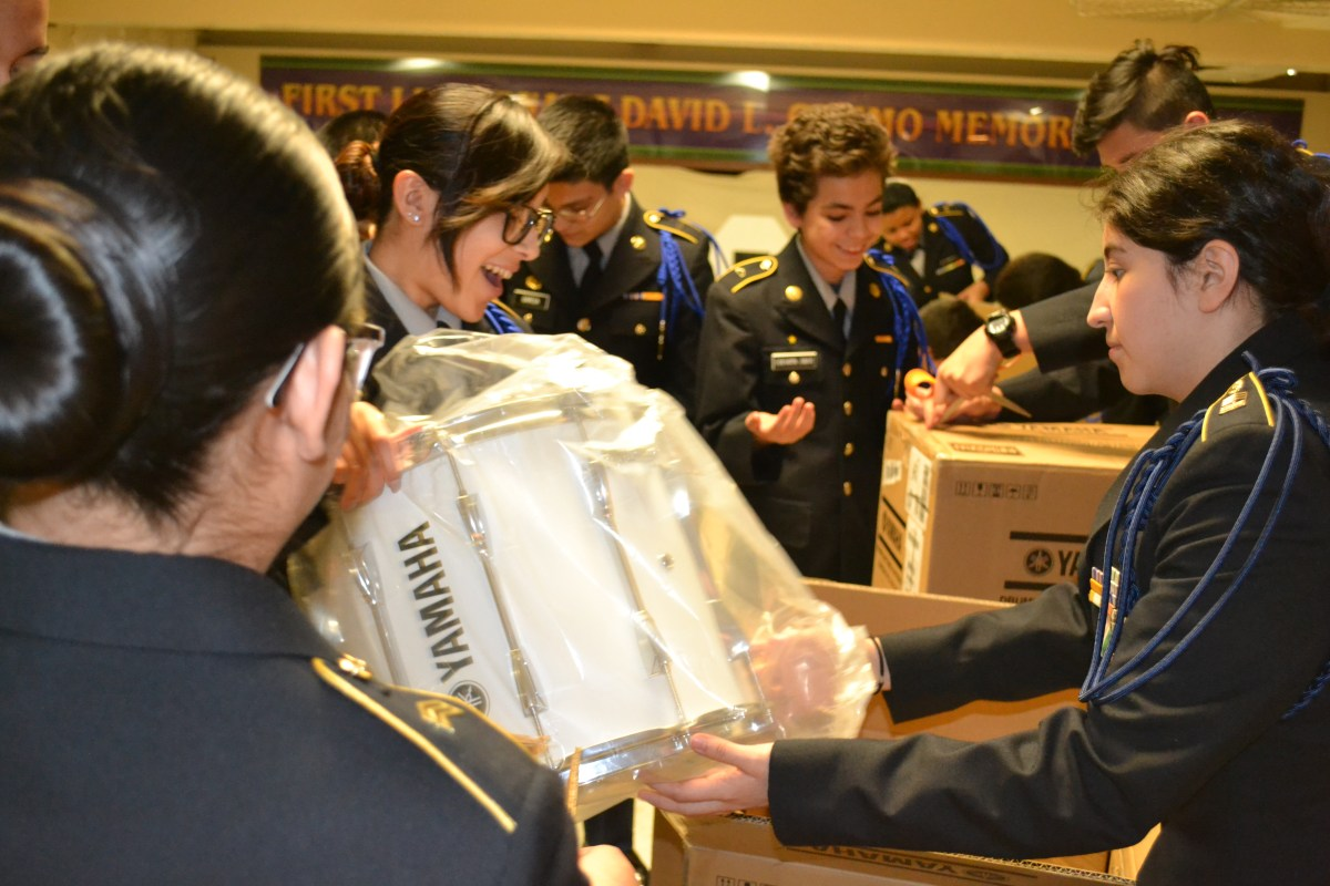 donating musical instruments