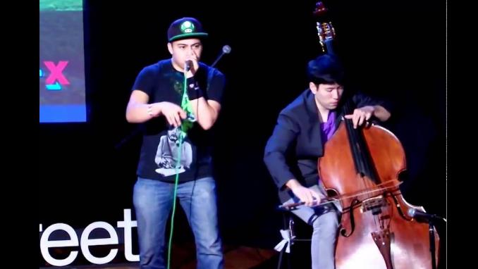 Beatboxer Jonathon Lopez and Cellist Man Wai Che