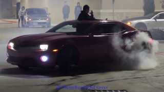 HUGE FIGHT BREAKS OUT AT CAR MEET | CAR CRASHES WHILE DRIFTING