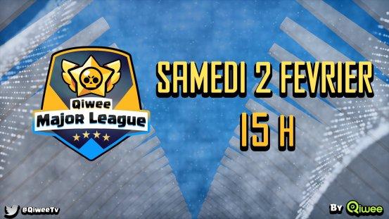 Qiwee Major League, Tournoi Brawl Stars