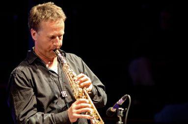 Jochen Feucht - einer der besten Sopransaxspieler Europas. Foto: G. Richter