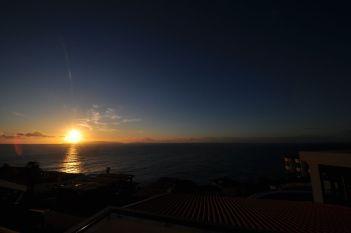 Sun over Rua Baden Powell