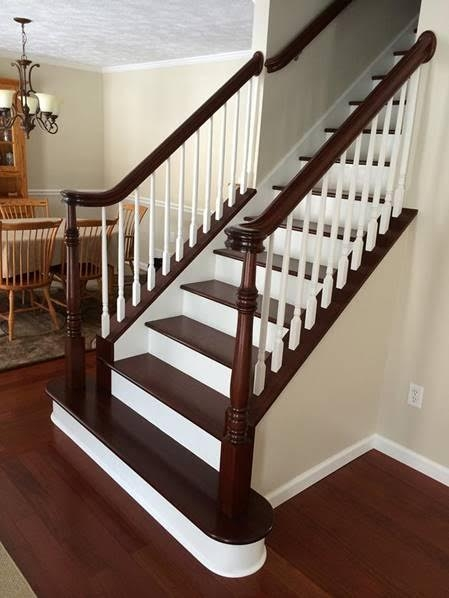 Stairs Treads And Risers Hardwood Floor Accessories By | Prefinished Walnut Stair Treads | Hardwood Lumber | Hardwood | Wood Stair | Stair Parts | Brazilian Walnut