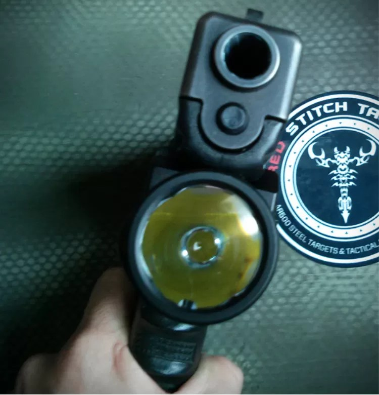 Streamlight TLR-1 HL - weapon mounted light - review.