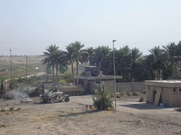 A first platoon patrol base