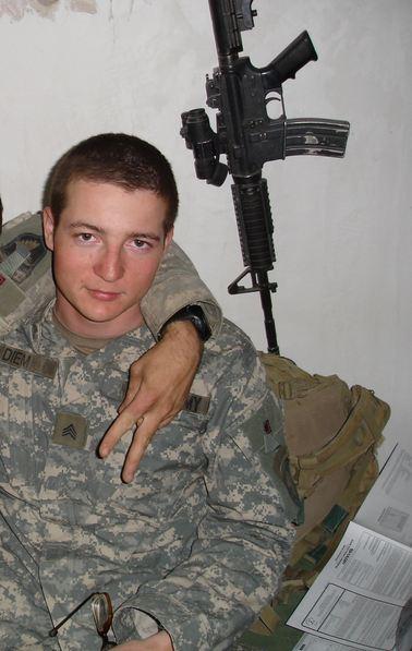 John Diem in Iraq
