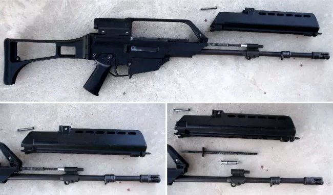 16. HK G36 E piston action