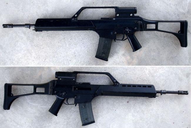 8. HK G36 E