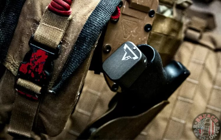 Image of Taran Tactical Magazine Extension from bottom.