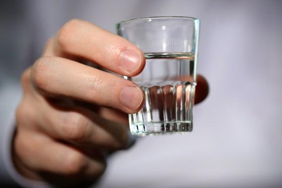 Shot of Vodka 1