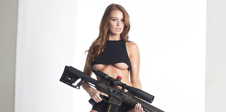 Leanna Decker loves her some Radical Firearms.