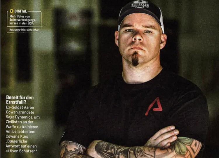 Sage Dynamics Aaron Cowan in Germany's Focus Magazine