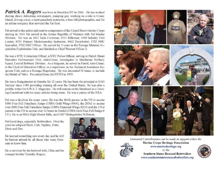 Pat Rogers Memoriam
