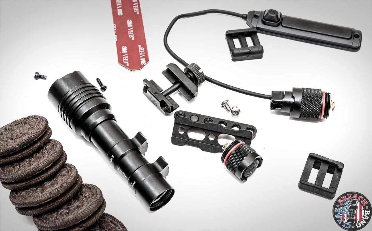 streamlight protac rail mount 1 vs 2