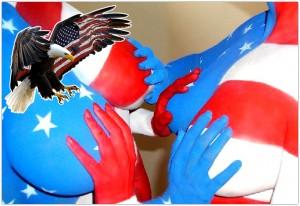 Patriotic Star Spangled Boobs3