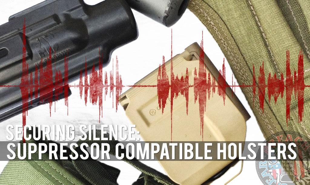 Suppressor holster