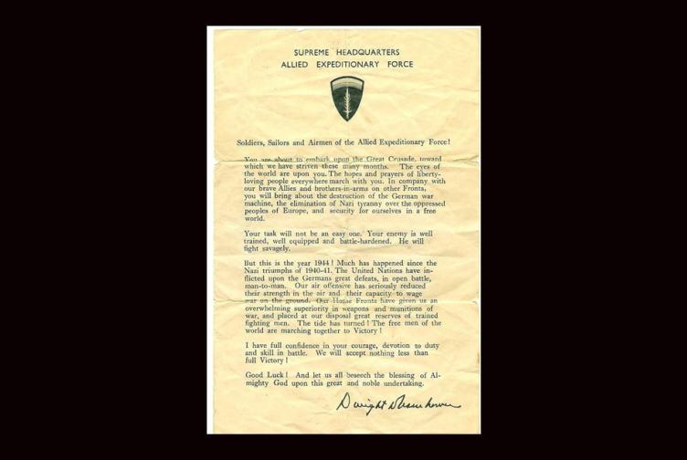 Combat veteran POTUS Dwight D. Eisenhower