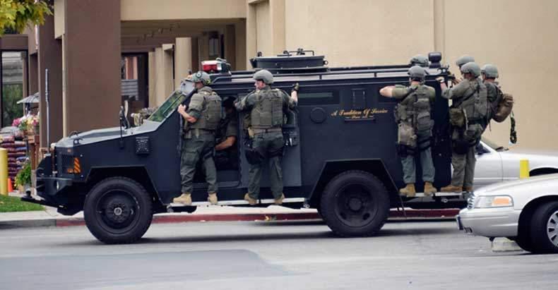 SWAT - drop leg holster