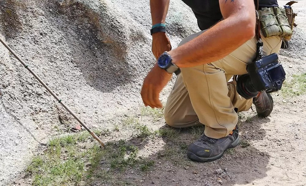 The Propper STL 3 pants have excellent stretch and range of motion.