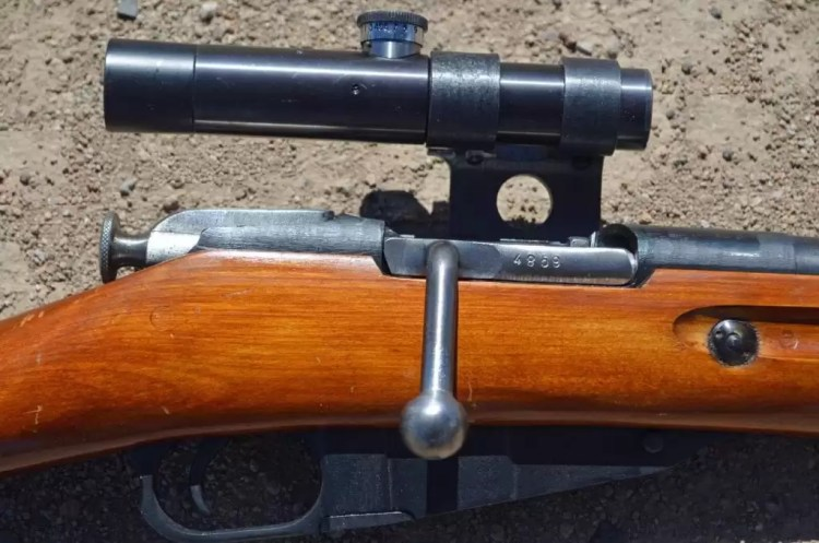 Imported Mosin Sniper with PU scope.