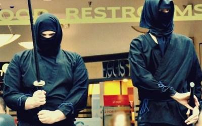 MNKF: Mall-Ninja Wall Hangers